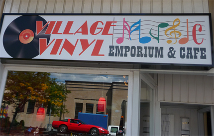 Village Vinyl is a Record Store and Music Store in Toronto