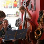 Humber College Jazz Program students, The Lady Days, perform their tribute to Billie Holliday and Lester Young at Village Vinyl